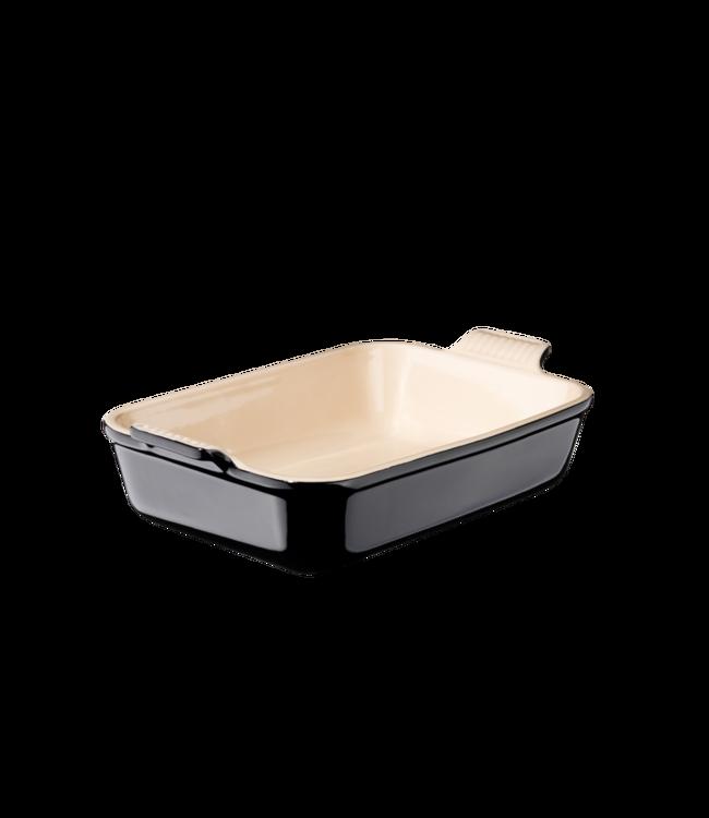 Le Creuset rechthoekige ovenschaal 31 cm zwart
