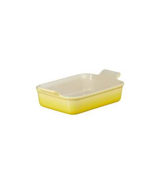 Le Creuset Le Creuset rechthoekige ovenschaal 26 cm Soleil geel actie