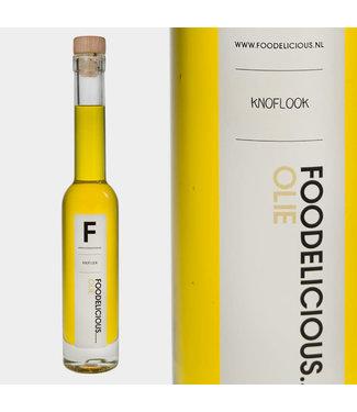 Foodelicious Foodelicious knoflook olie BIO 225ml