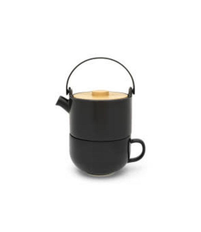 Bredemeijer Tea for one Umea zwart 500 ml
