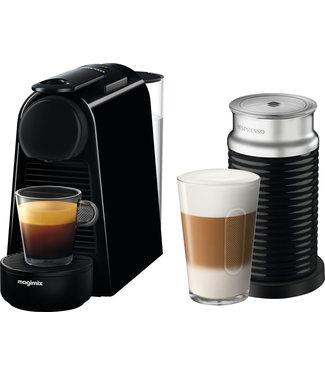 Magimix Nespresso Essenza Mini zwart & Aero