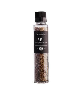 Lie Gourmet Lie Gourmet Salt With Basel/Parmesan/Lemon  320