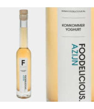 Foodelicious Foodelicious komkommer yoghurt azijn 225ml