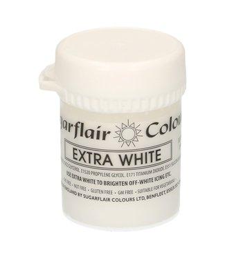 Sugarflair Sugarflair paste colour extra white 42 gr.