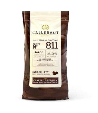 Callebaut Callebaut chocolade callets/ drops puur 1 kg