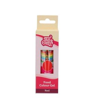 Funcakes Funcakes kleurstof gel rood 30 gr.