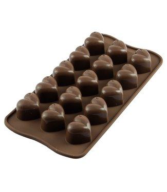 Silikomart Silikomart siliconen mal chocolade bonbons Monamour