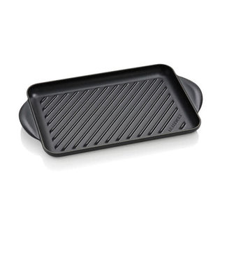 Le Creuset Le Creuset rechthoekige grill 32 cm mat zwart