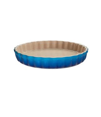 Le Creuset Le Creuset taartvorm/ quiche aardewerk 28 cm Marseille blauw actie