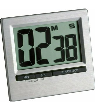 TFA TFA kookwekker/ timer digitaal alu
