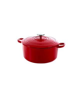 BK BK Bourgogne Dutch Oven braadpan 24 cm Chili rood