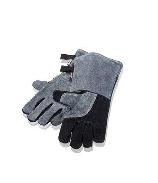 Gefu Gefu BBQ handschoen leer grijs/zwart
