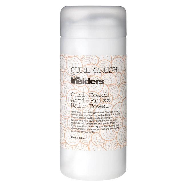 CURL CRUSH Curl Coach Anti-Frizz Hair Towel