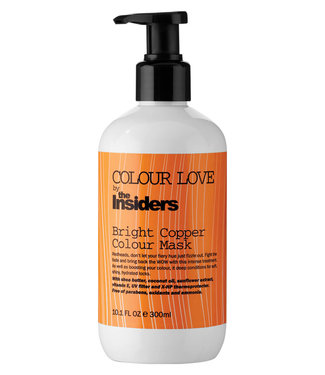COLOUR LOVE Bright Copper Colour Mask