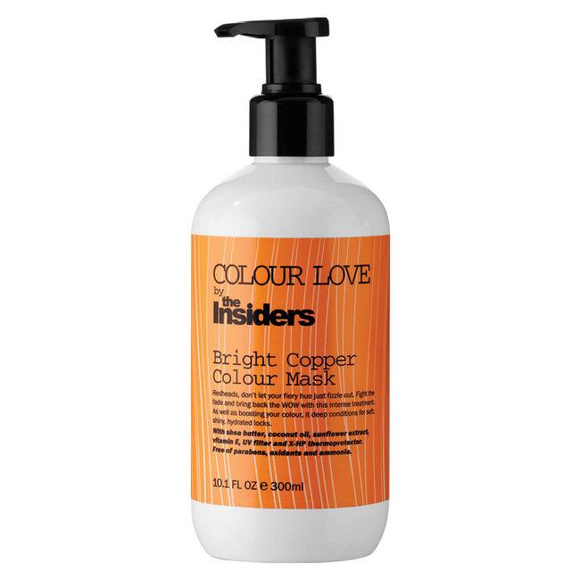 COLOUR LOVE Bright Copper Colour Mask