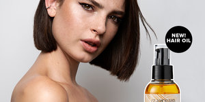 NEW: GO WITH THE GLOW HAIR OIL  (+ TEMPORARILY FREE MINI!)