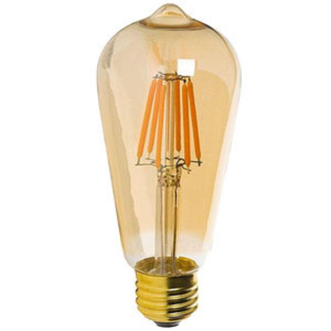 LED Filament Lamp 6W - 2200K - Edison