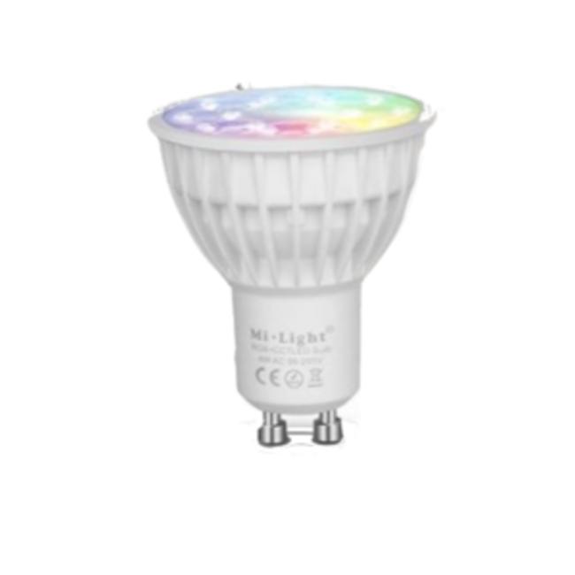 MI-LIGHT LED Spot GU10 - RGB+CCT - 4W