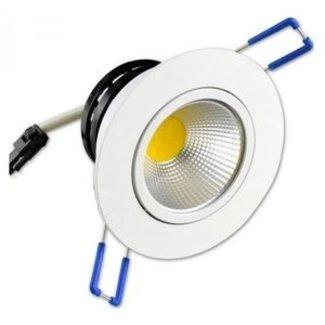PURPL LED Inbouwspot 5W - Koud Wit - Ø85mm
