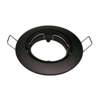 PURPL LED Spot Armatuur - IP20 - Rond - Zwart
