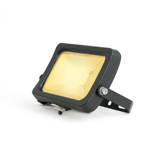 PURPL LED Bouwlamp 30W - Warm Wit - Zwart