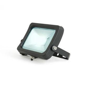 LED Bouwlamp 30W - Koud Wit - Zwart