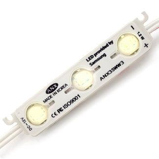 PURPL LED Module 50stuks - Helder Wit -1,2W