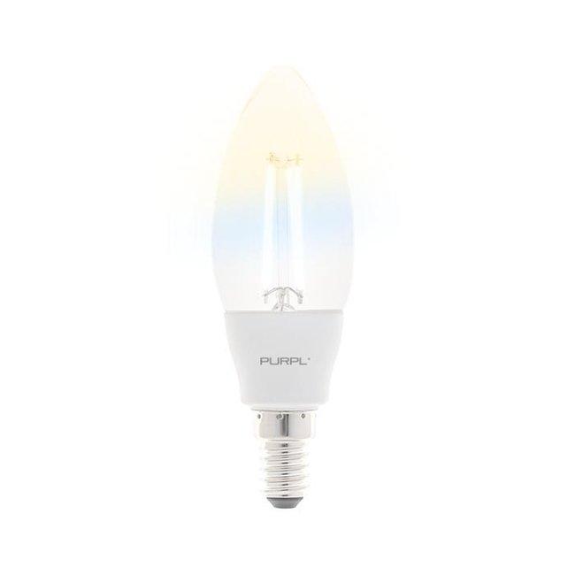 PURPL Slimme LED Filament Lamp  E27- CCT - 5W - C38