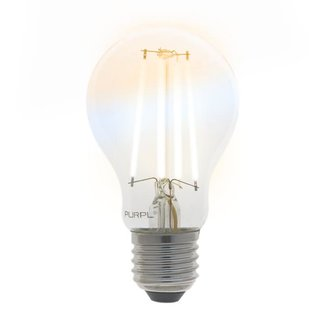 PURPL Slimme LED Filament Lamp E27 - CCT - 7W