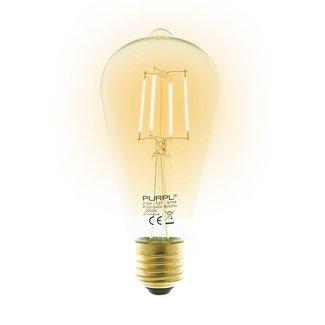 PURPL LED Filament Lamp | 2.5W | E27 | ST64