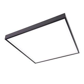 PURPL Opbouwframe LED Paneel - 60x60 - Zwart