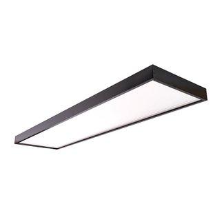 PURPL Opbouwframe LED Paneel - 30x120 - Zwart