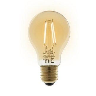 PURPL LED Filament Lamp | E27 | Peer A60 | 2.5W