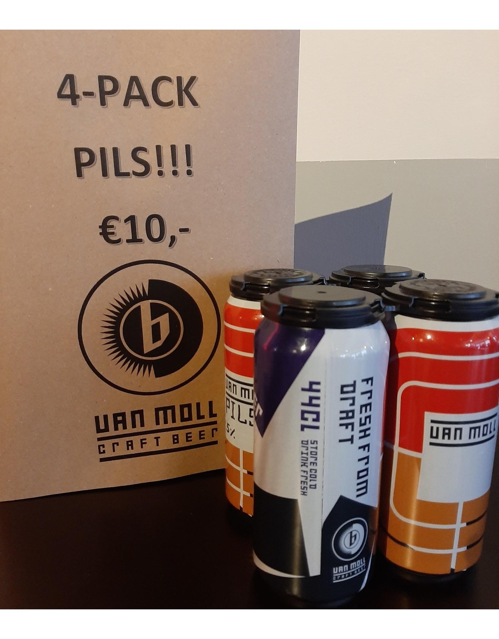 Pils 4x 44cl - Van Moll