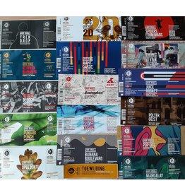 Van Moll beer Specials labels collection
