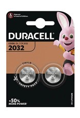DURACELL batterij - 2032 PER STUK (2 batterijen)
