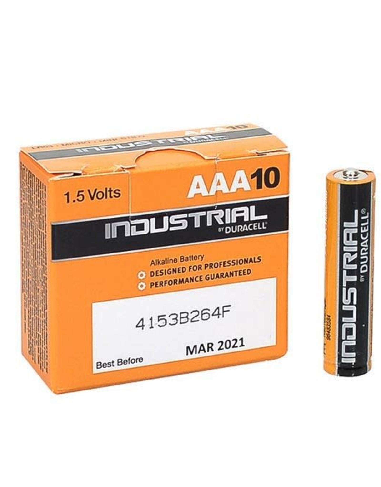 DURACELL batterij aaa industrial, PER STUK