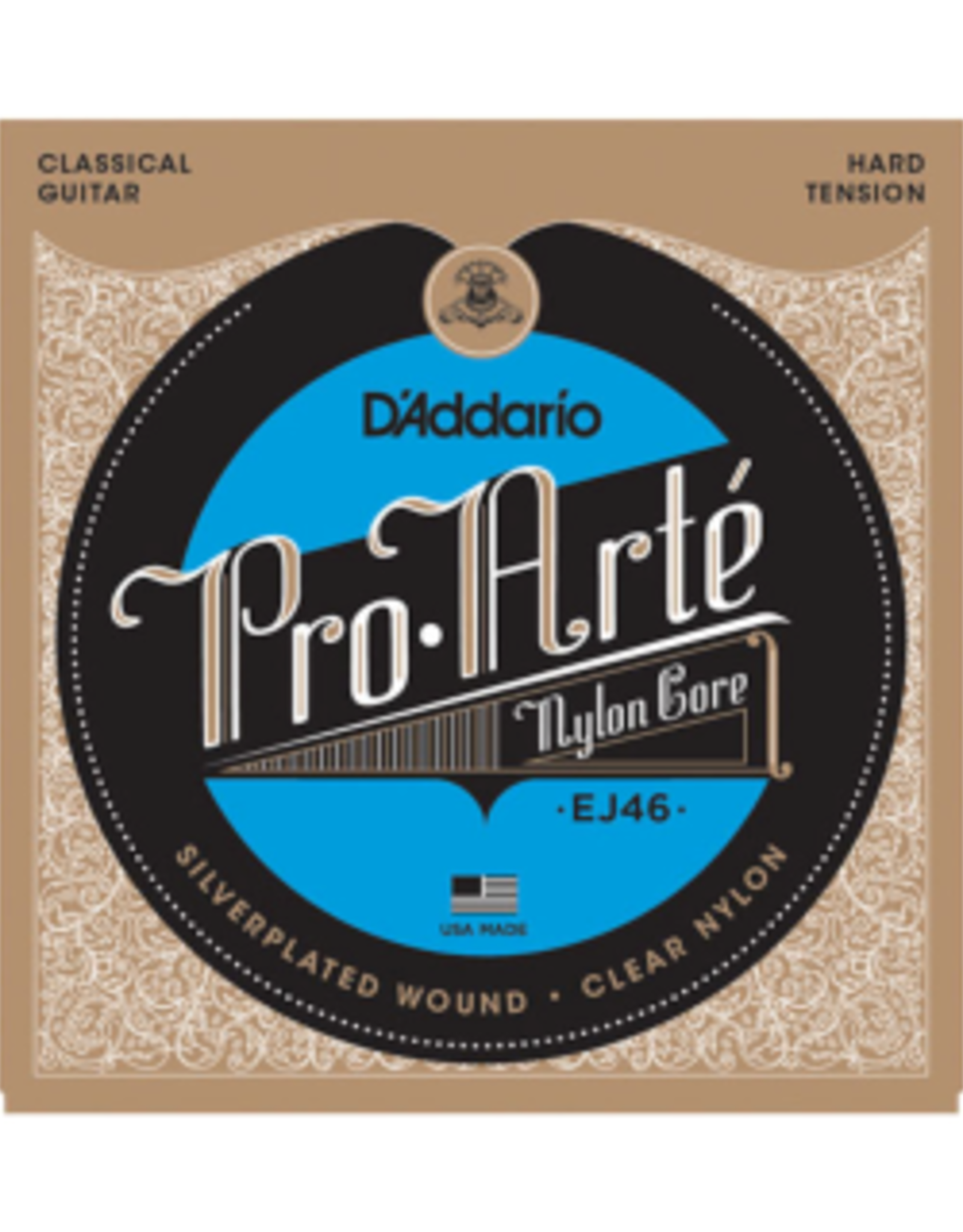 D'ADDARIO Pro Arte snarenset voor klassieke gitaar, hard
