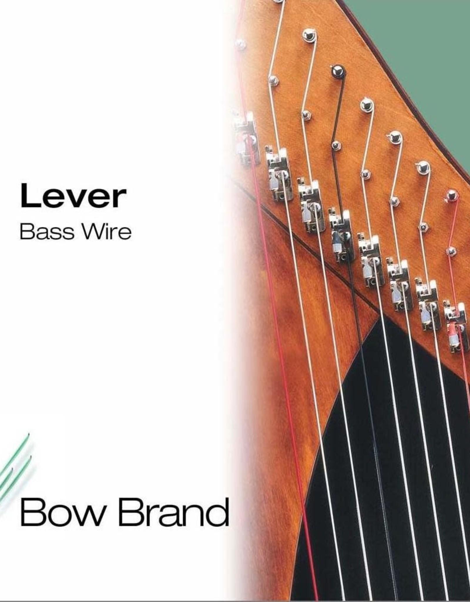 BOW BRAND  klep metaal - lever WIRE (set) - 5de octaaf - inclusief 5% korting