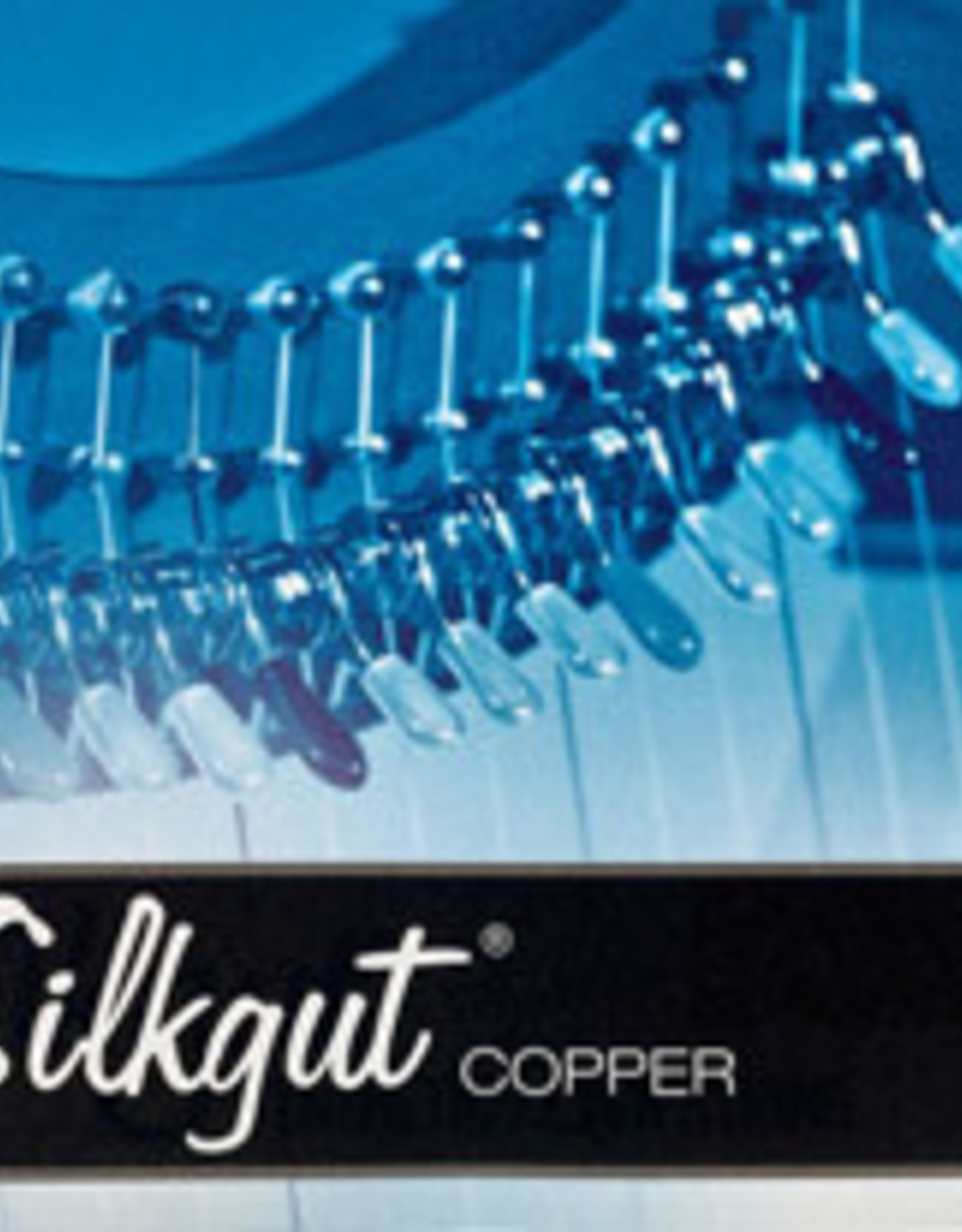 BOW BRAND  silkgut copper 27/4sol