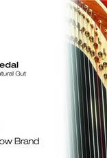 BOW BRAND  pedaal darm - pedal STD GUT 25/4 si