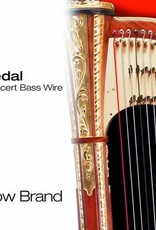 BOW BRAND  pedaal metaal - pedal WIRE (set) - 6de octaaf - inclusief 5% korting
