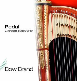 BOW BRAND  pedaal metaal - pedal WIRE (set) - 7de octaaf - inclusief 5% korting