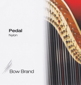 BOW BRAND  pedaal nylon - pedal NYLON (set) - 0de en 1ste octaaf - inclusief 5% korting