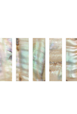 Parelmoer slofplaatje strijkstok (Bow Slides Pearl, Colored) Doos