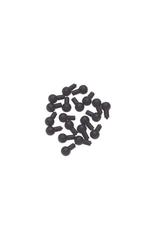 Sleutelpin viool/altviool, zwart PER STUK