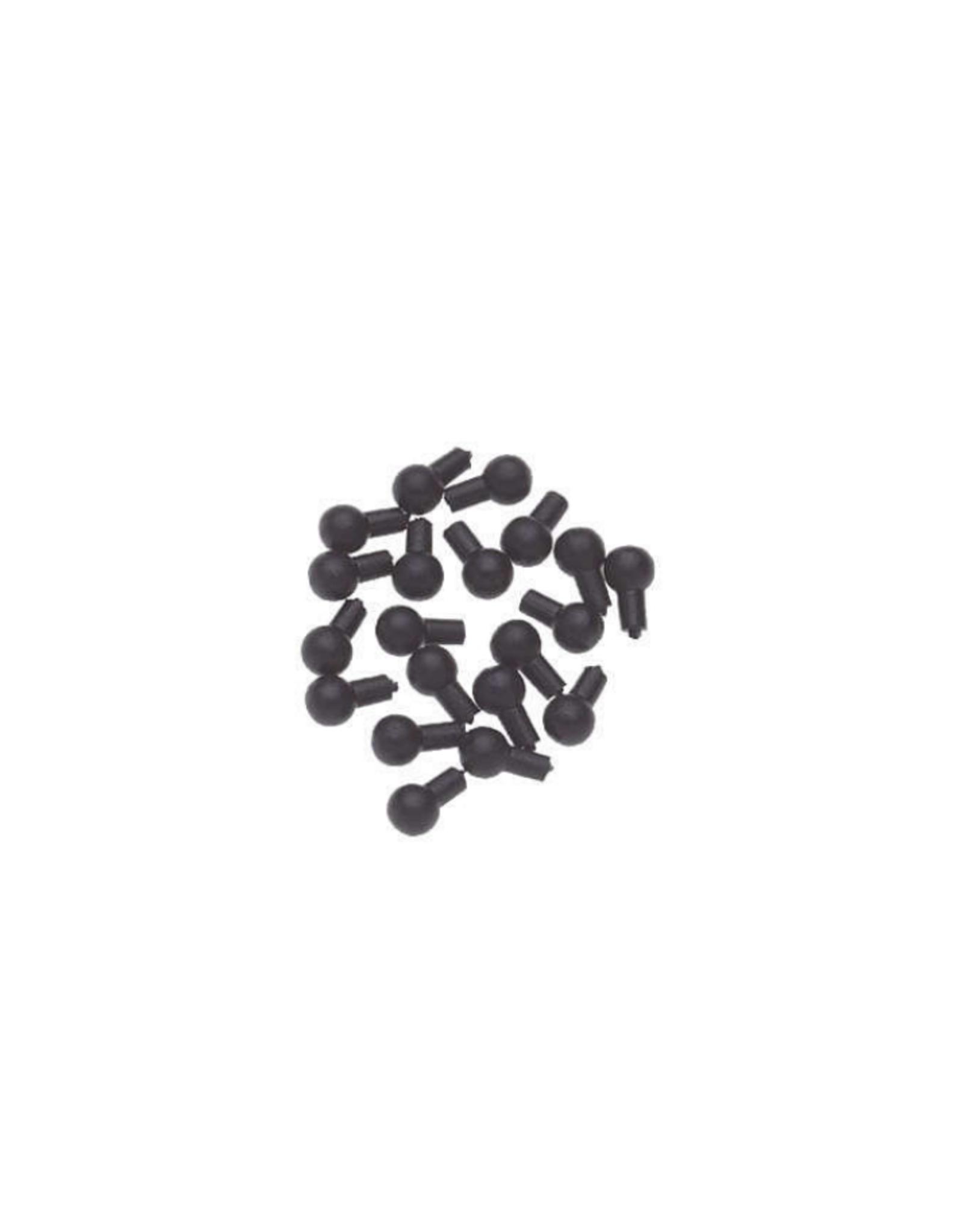 Sleutelpin viool/altviool, zwart, 20 st., DOOS