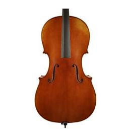 ADVANCED Scott Cao Davidov, cello 4/4, Europees geselecteerd vuren en gevlamd esdoorn, antieke vernis, Stradivarius Davidov 1712 model.