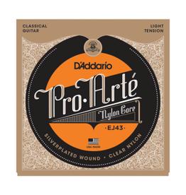 D'ADDARIO Pro Arte snarenset voor klassieke gitaar, light