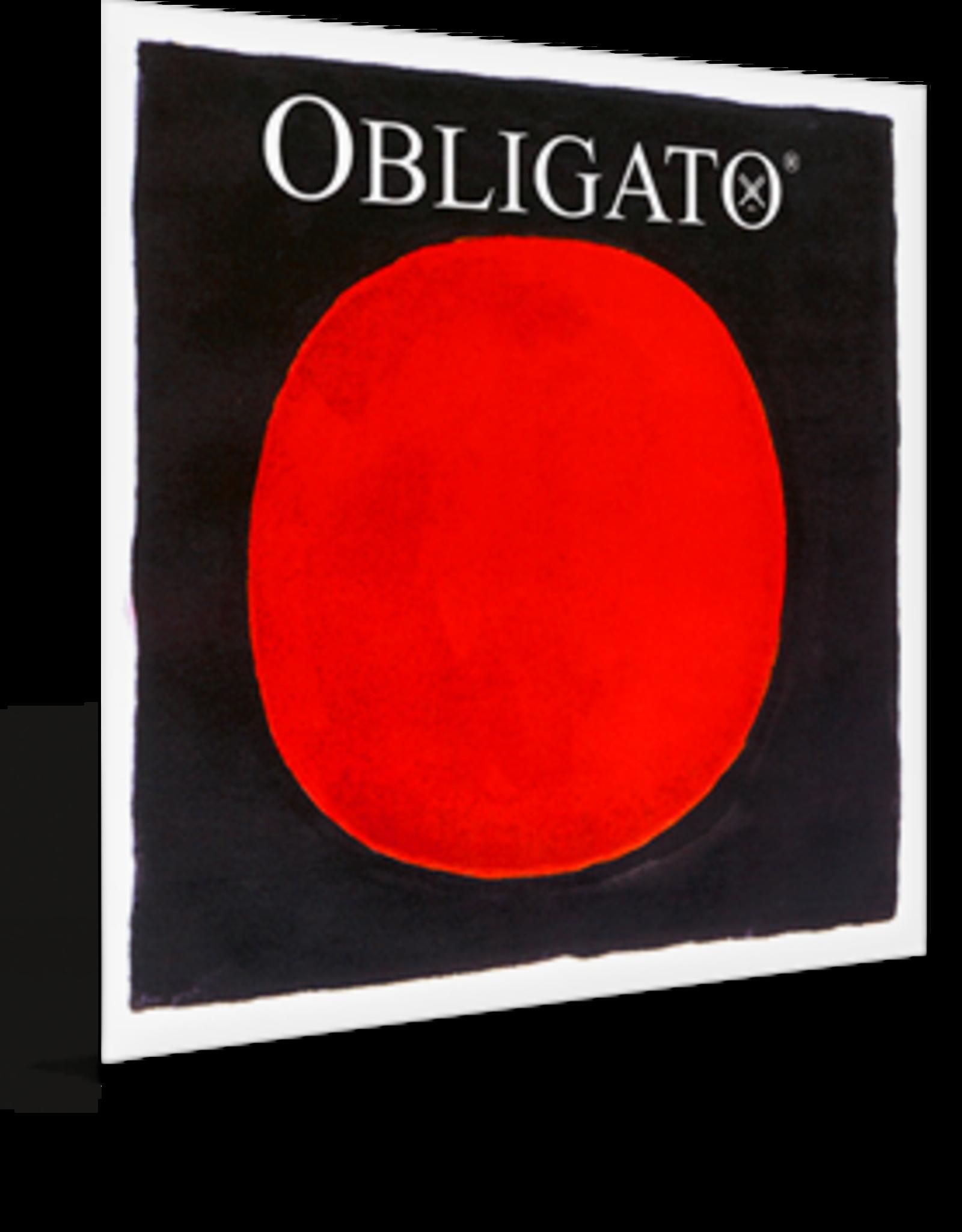PIRASTRO Obligato vioolsnaar, sol (g-4),  4/4, synthetisch, zilver